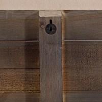 Schwarzes shabby chic Wandbild + Spruch Holz Wandschild