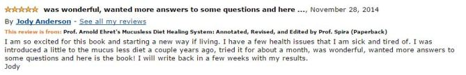 Jody Anderson Amazon Review