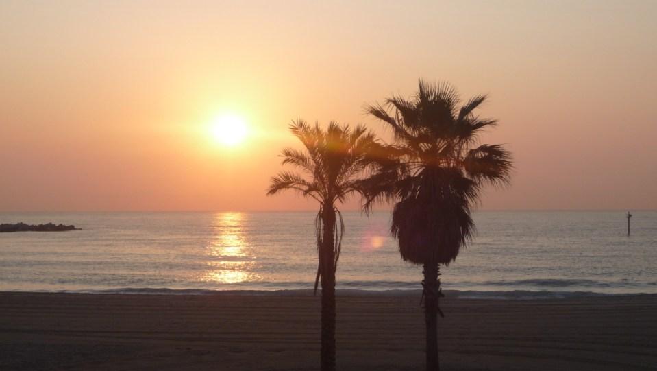 barcelona barceloneta praia