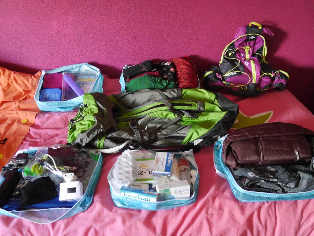 o que levar na mochila viagem