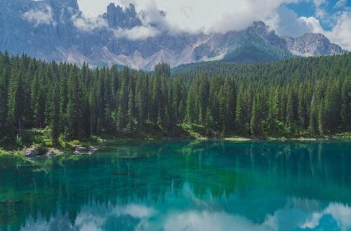 lago di carezza italia