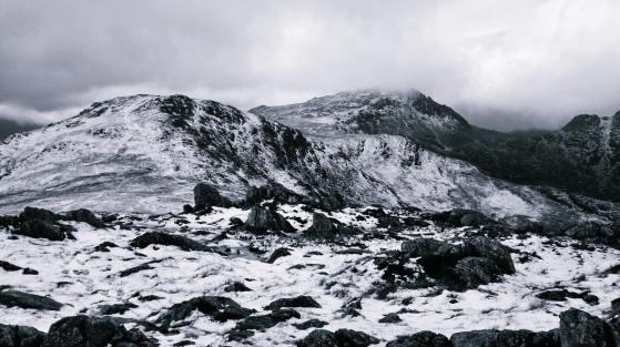 Looking back at Y Foel Goch from Gallt yr Ogof