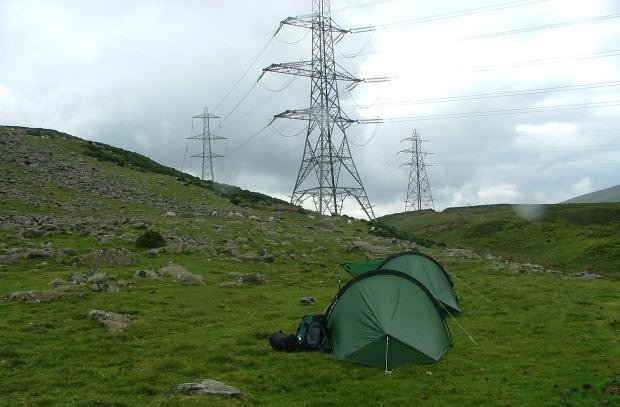 Wild Camping in the North Carneddau - From Rachub to Capelulo