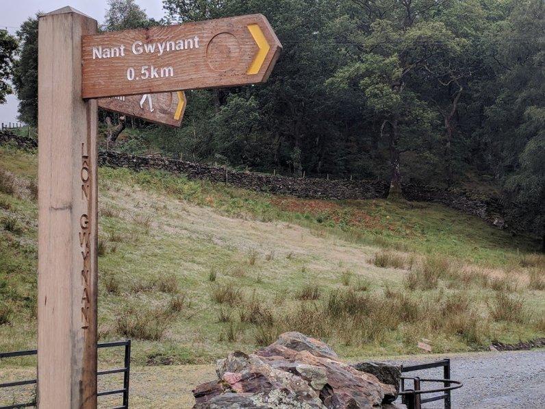 An Easy Family Walk Around Llyn Dinas