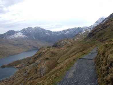 Snowdon via PYG track from Pen Y Pass