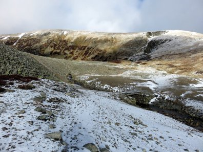 Helvellyn via Sticks Pass from Patterdale
