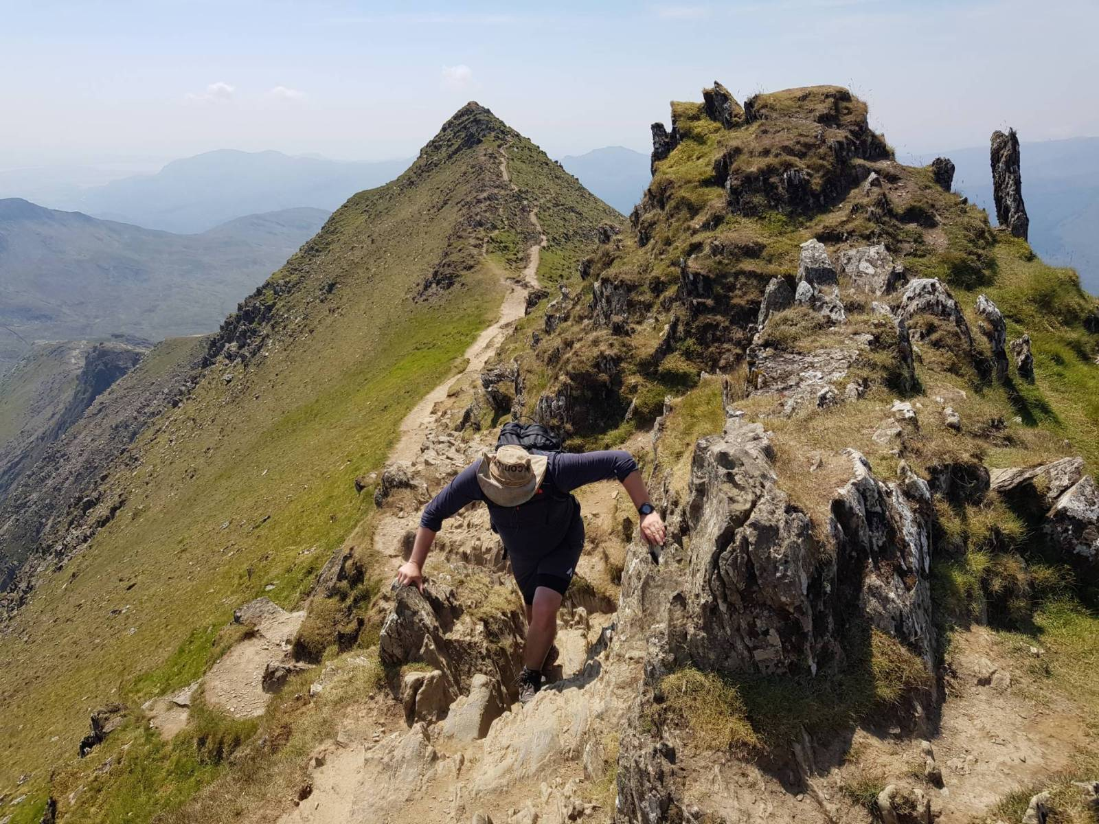 Snowdon South Ridge from Rhyd Ddu - Best Walks from the Welsh Highland Railway
