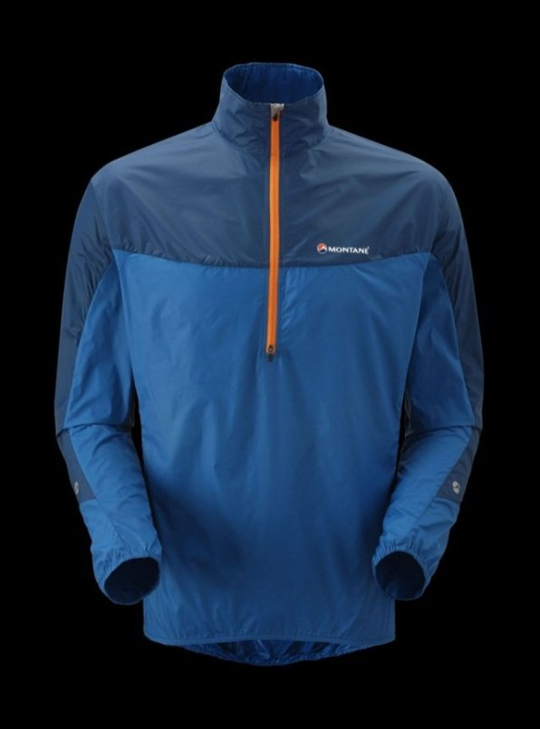 Available in six colours including Montane's signature Moroccan blue and tangerine.