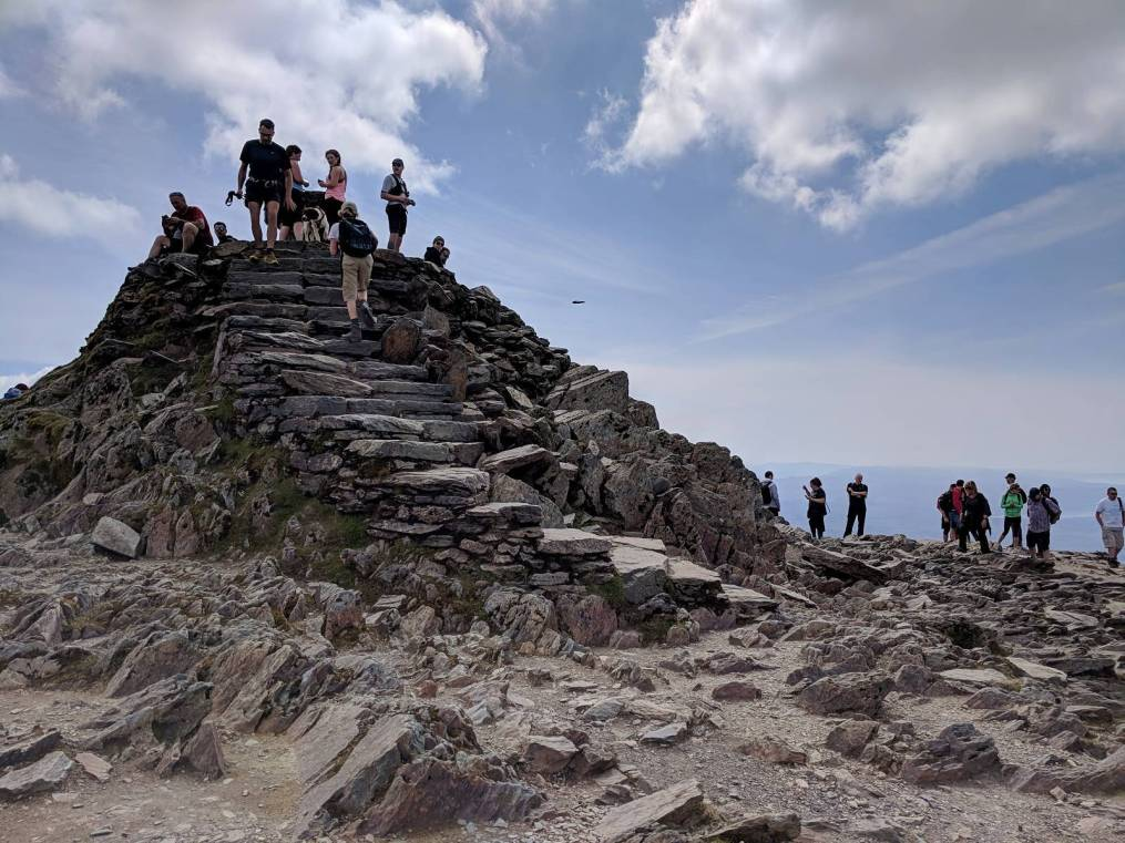 Walk up Snowdon via the Llanberis Path Cambrian Way