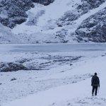Garn and Glyderau via Cwm Clyd Ogwen Winter Walking Route