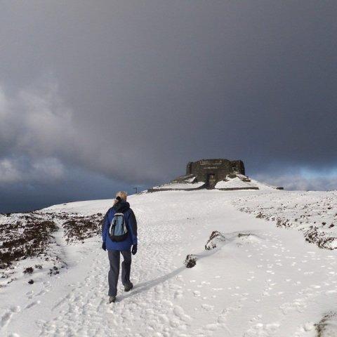 Foel Fenlli and Moel Famau Walk From Bwlch Pen Barras