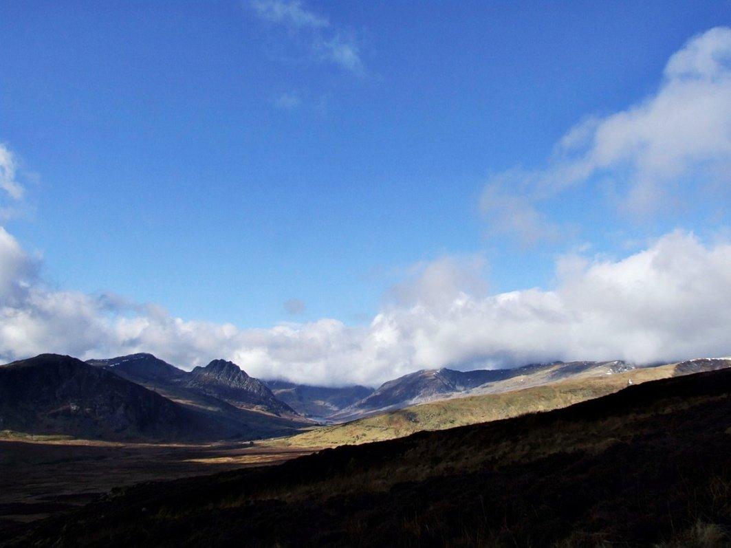 Walk up Creigiau Gleision from Capel Curig and Llyn Cowlyd
