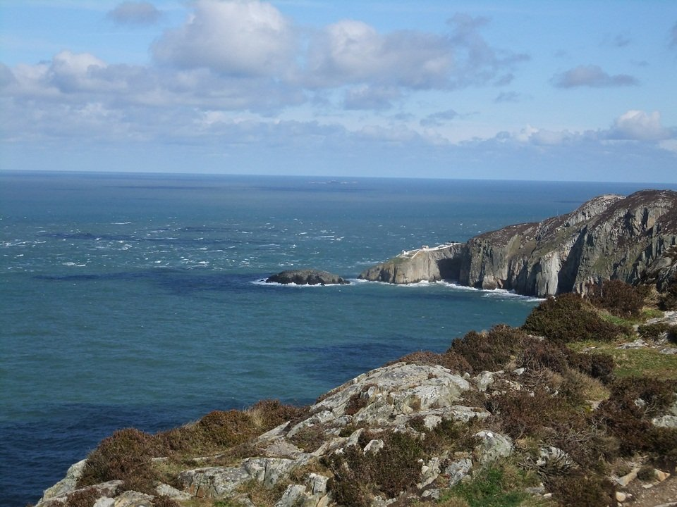 Walk to Mynydd y Twr (Holyhead Mountain) and Ynys Lawd (South Stack)