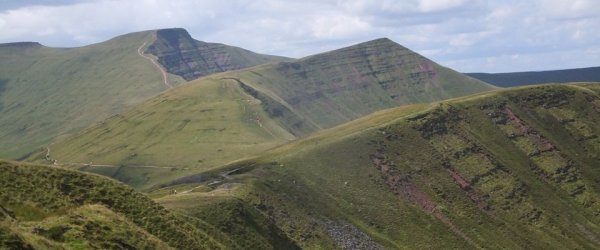 Pen y Fan – Brecon Beacons and Taff Trail Walk from Brecon