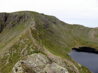 2 Helvellyn - The Highest Mountains In England - The Top 25 - Scramble up Helvellyn via Striding Edge