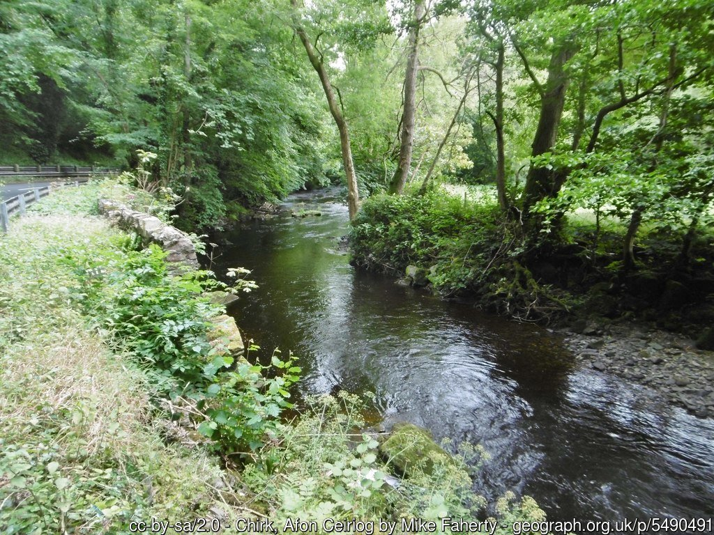 Chirk and River Ceiriog Circular Walk | Clwydian Range and