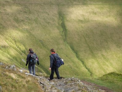 Walk up Elidir Fawr From Marchlyn Mawr and Deiniolen