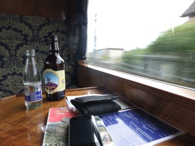 First Class, and that's just the beer....