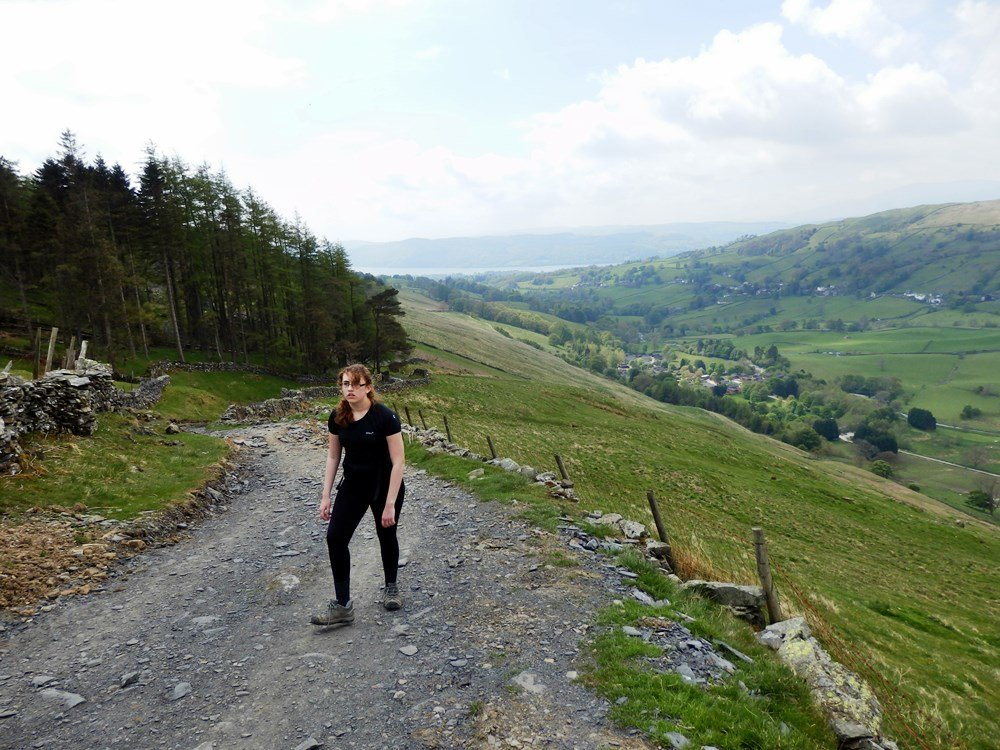 Walk up Ill Bell and High Street from Troutbeck