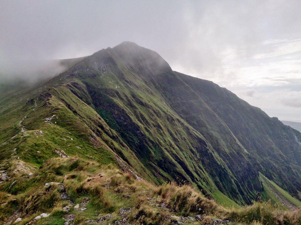Nantlle Ridge Circuit From Rhyd Ddu - Cwm Dwyfor Return