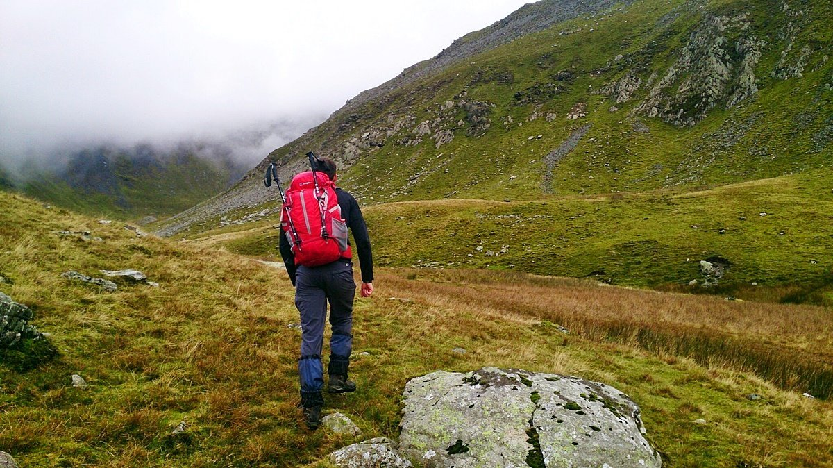 Yr Elen North East Ridge Scrambling Route