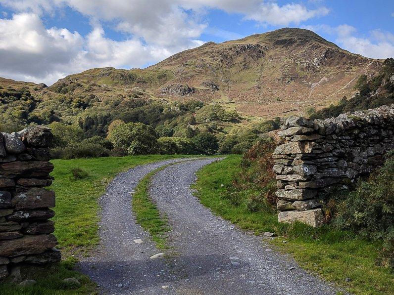 Lon Gwynant Walk - Pen-y-pass to Beddgelert