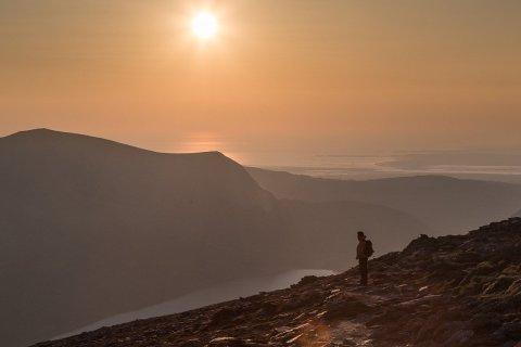 The Snowdon Girdle Walking Route