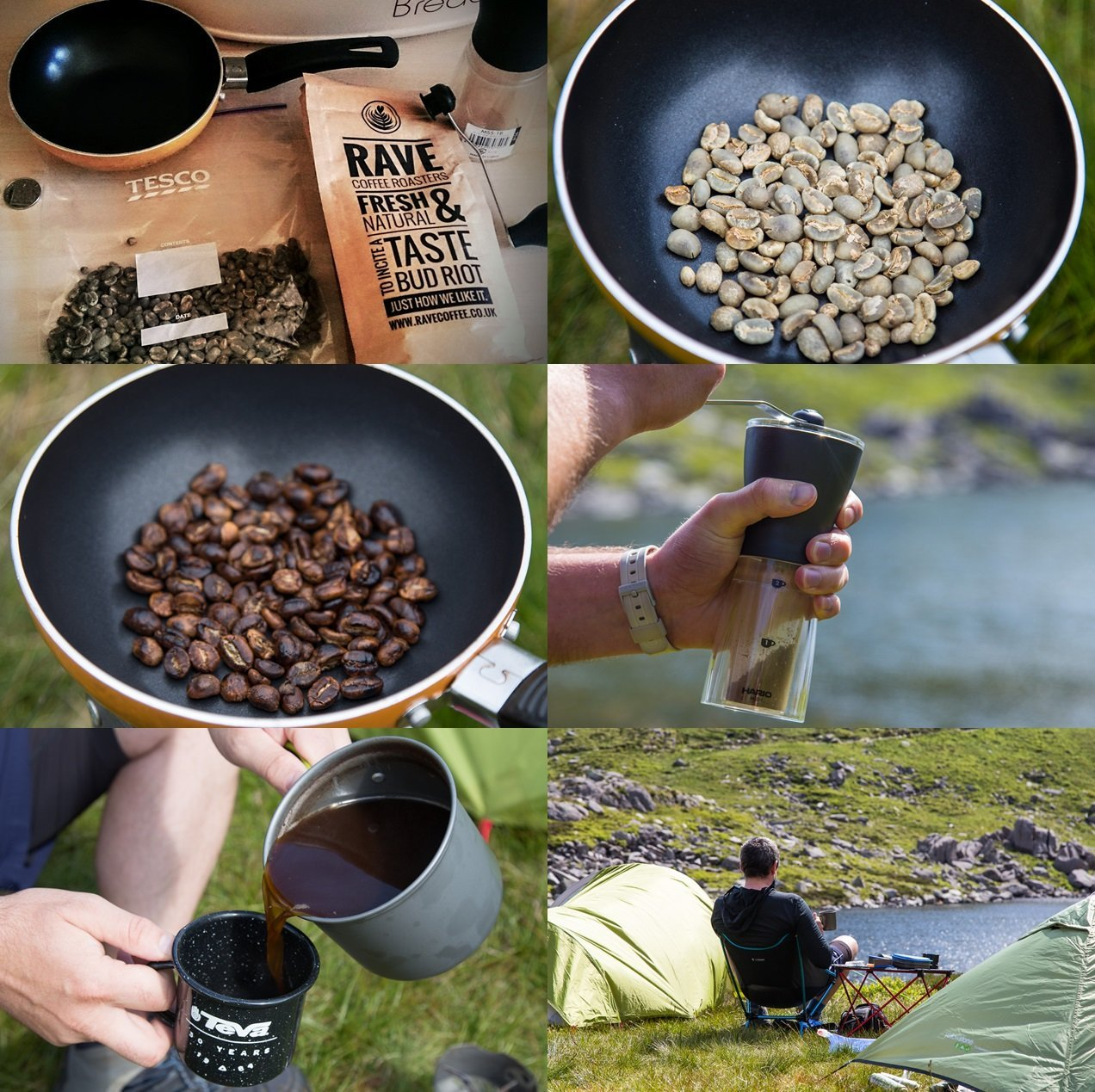 The Ultimate Wild Camping Coffee A Proper Roasting Mud