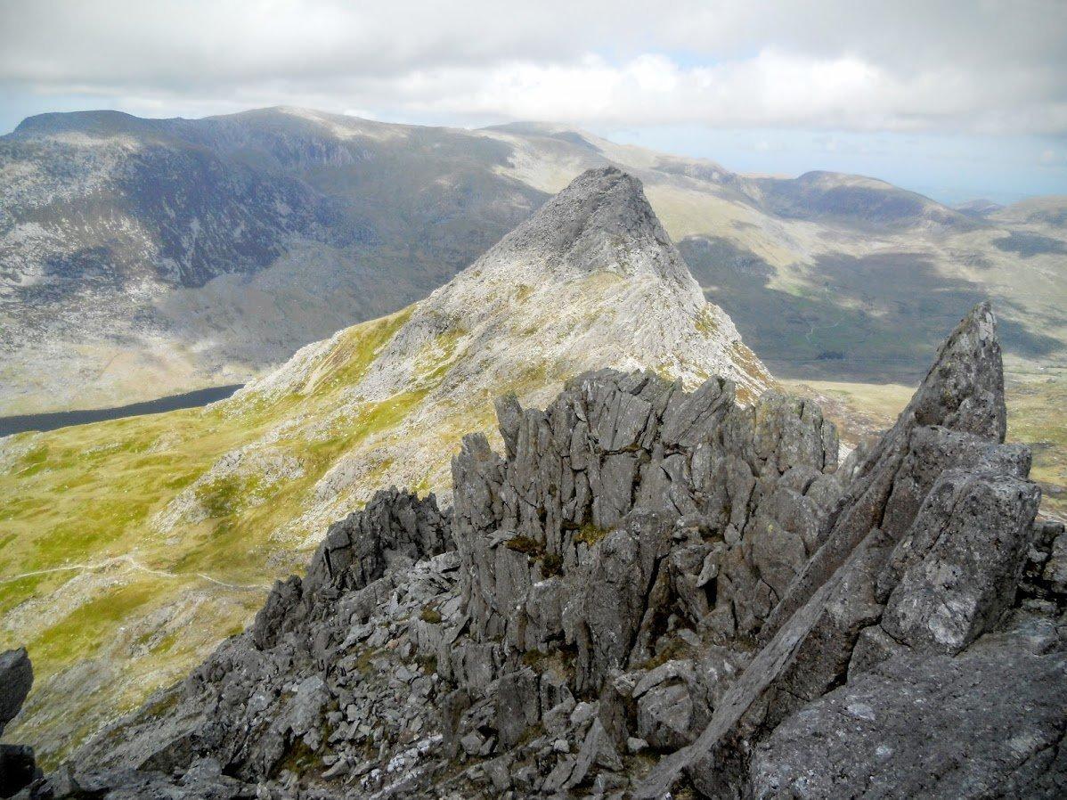 Bochlwyd Horseshoe Scrambles in Snowdonia