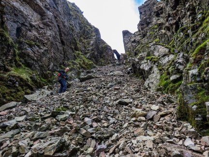 Best Walks from Wasdale - Lord's Rake