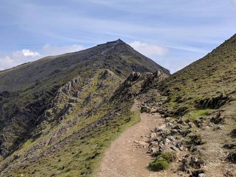 The Rhyd Ddu Path up Snowdon Cambrian Way