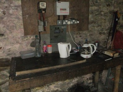 Electricity, in a bothy?