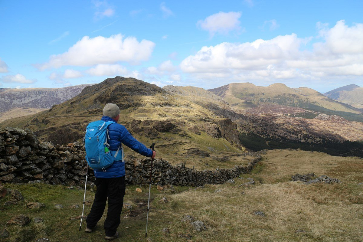 Mountain Walks from Beddgelert and Nant Gwynant in Snowdonia