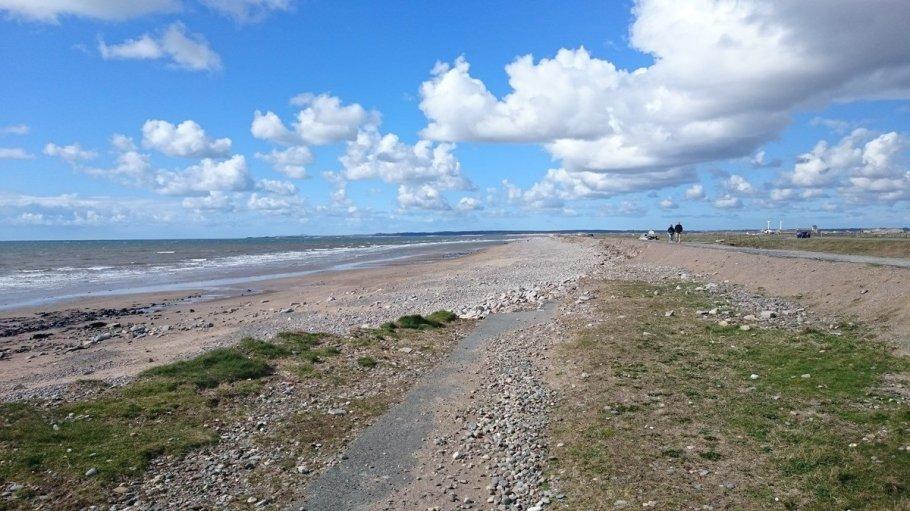 Coastal Erosion at Dinas Dinlle beach