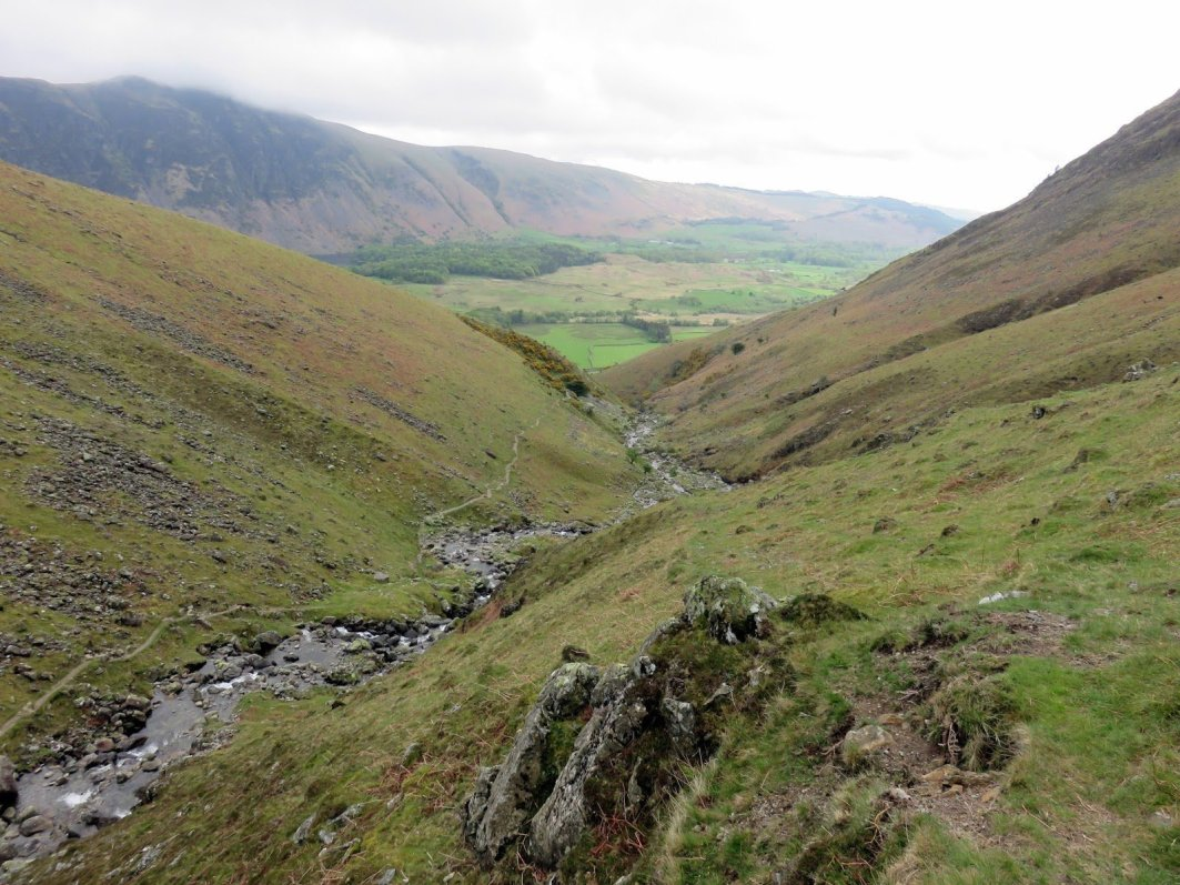 Walk up Middle Fell, Seatallan and Buckbarrow from Wastwater