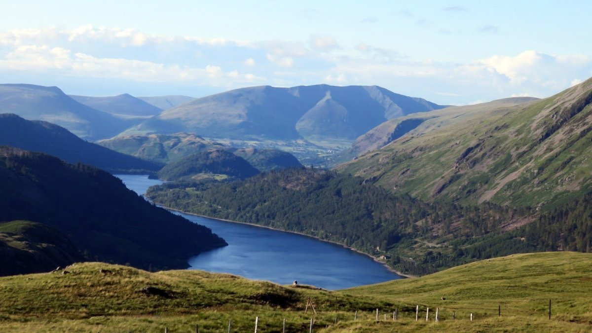 Walks from Ambleside in the Lake District - Steel Fell