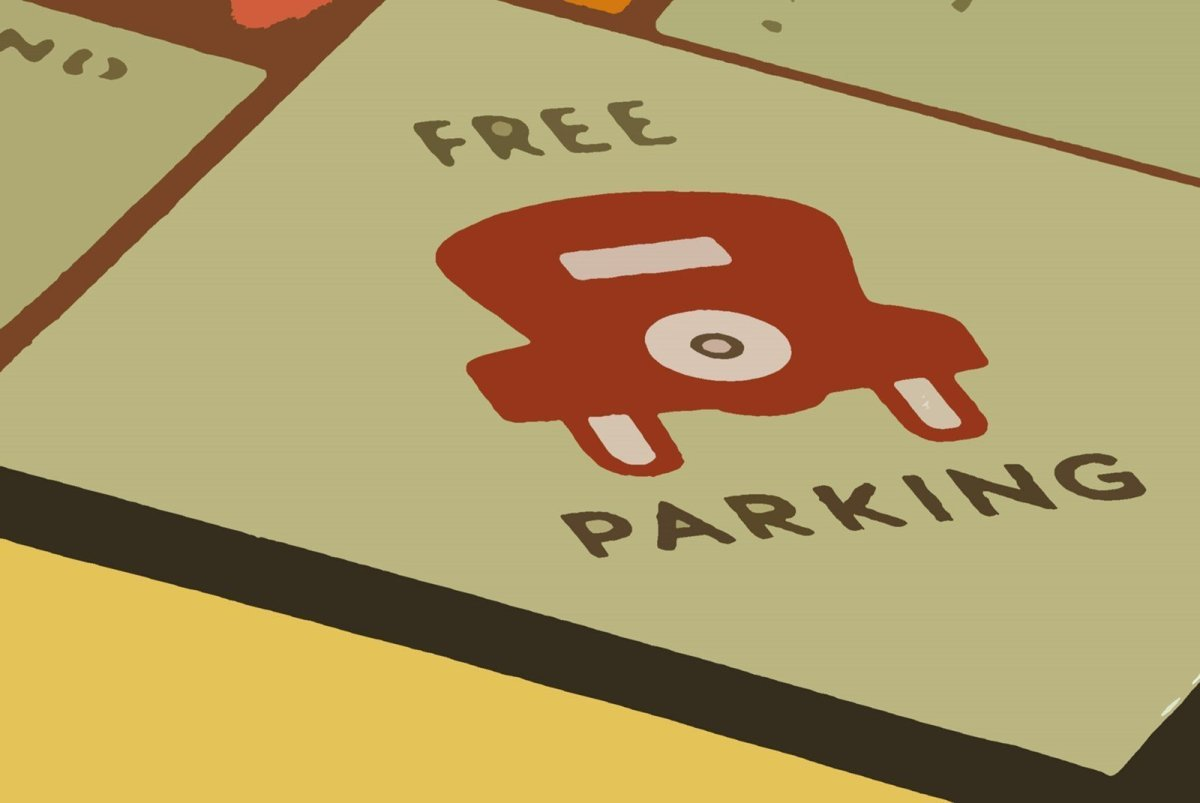 Finding free parking can be a game