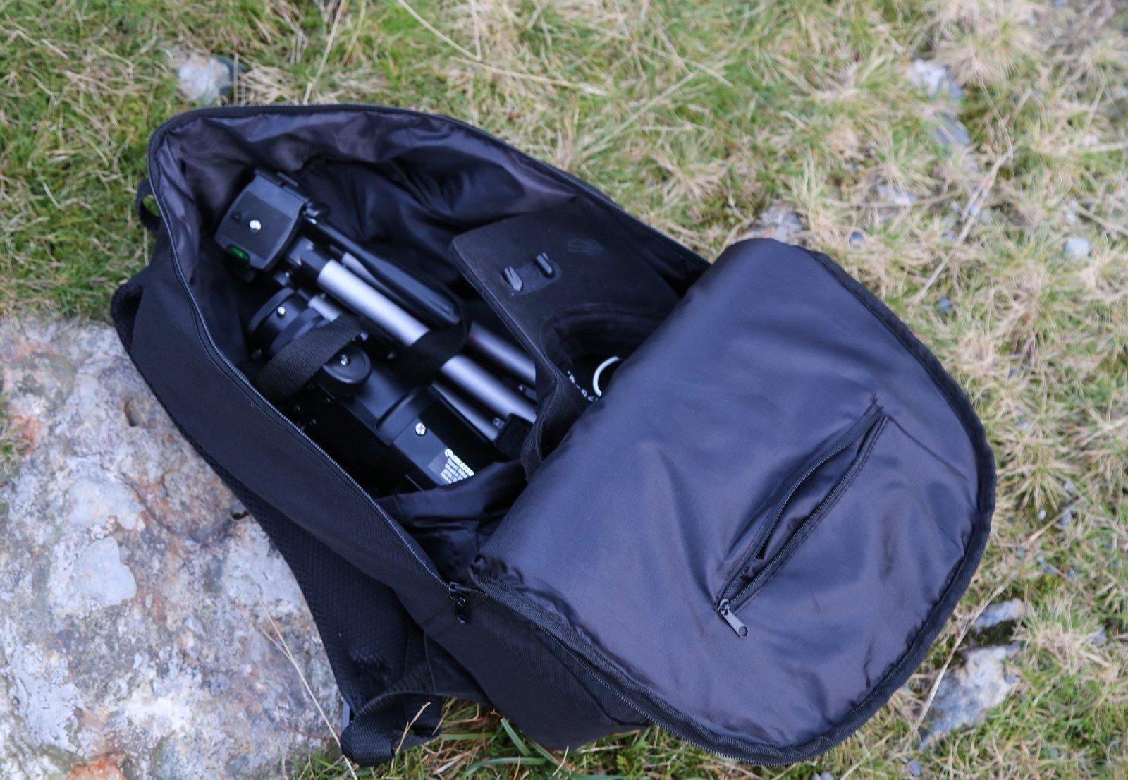Celestron travel scope portable telescope shopping bin
