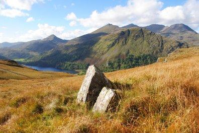 The Snowdonia Way Snowdon and Nantgwynant from the Bwlch y Rhediad