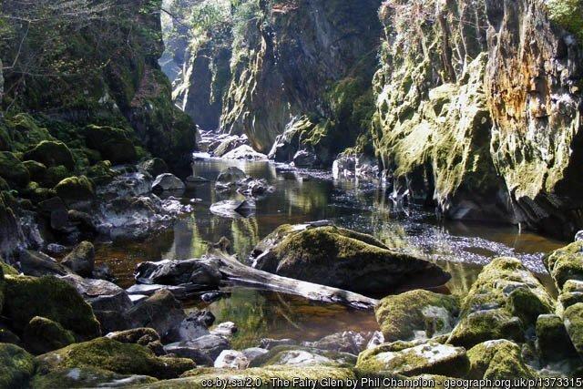 Ffos Noddum -Fairy Glen Walk Betws-y-coed