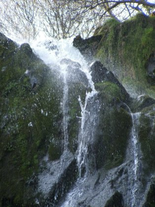 Walk to the Llanberis Waterfall