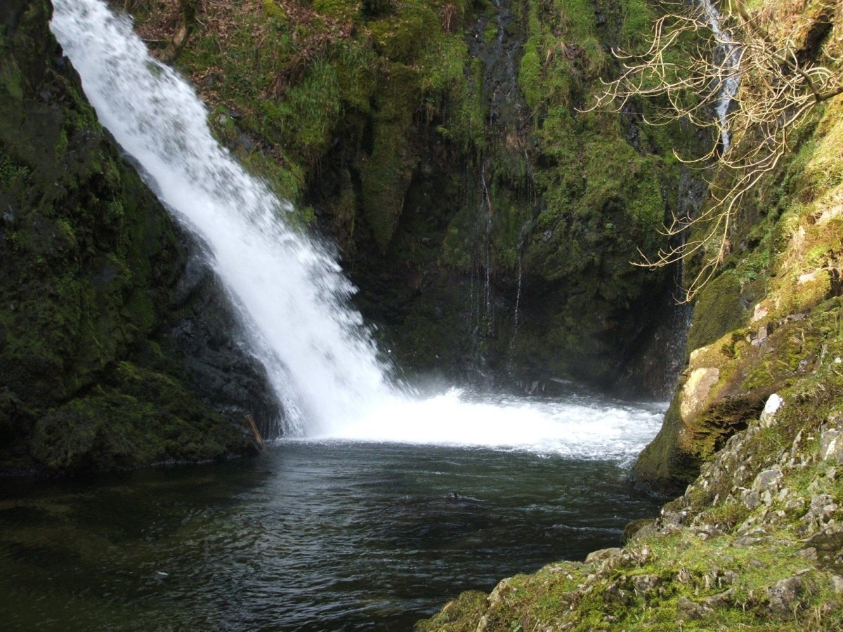 Walk to the Llanberis Waterfall Ceunant Mawr