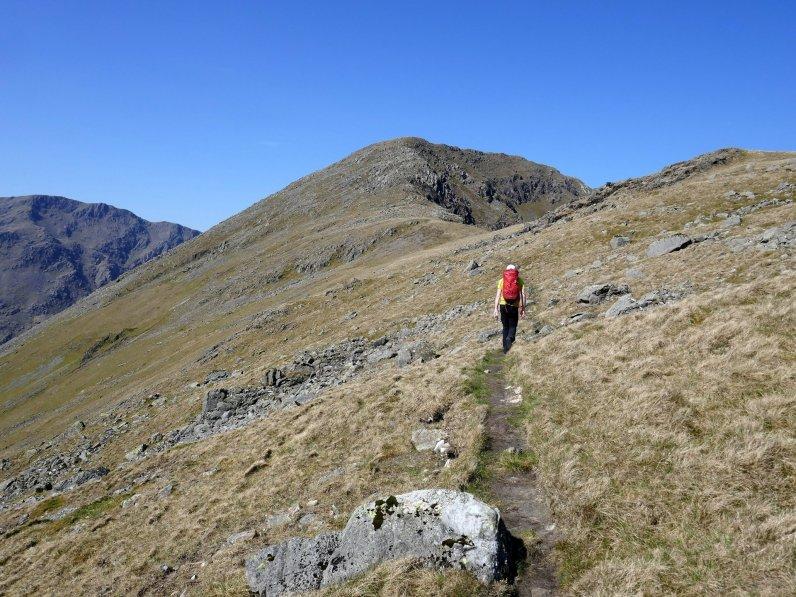 03 - The path at Black Sail Pass