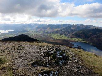Ullock Pike's summit