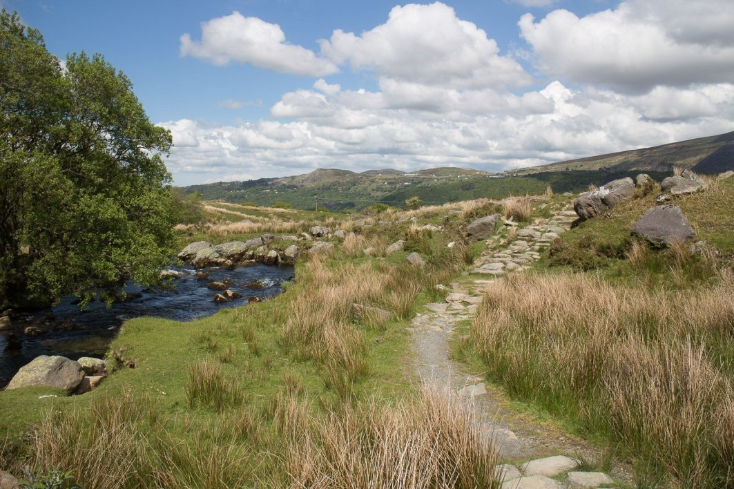 Clogwyn y Gwin Path and Maesgwm (131 of 135)