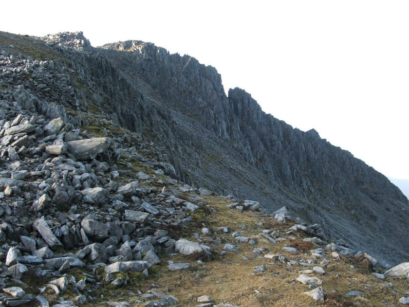 Glyder Fach via the Miner's Path from Pen y Gwryd