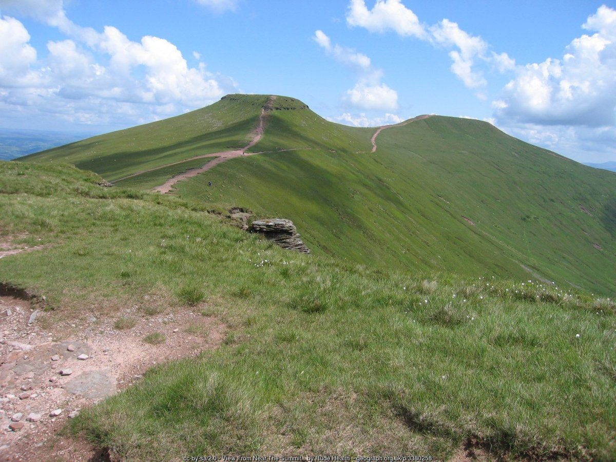 All the Walking Routes up Pen y Fan - Beacons Horseshoe