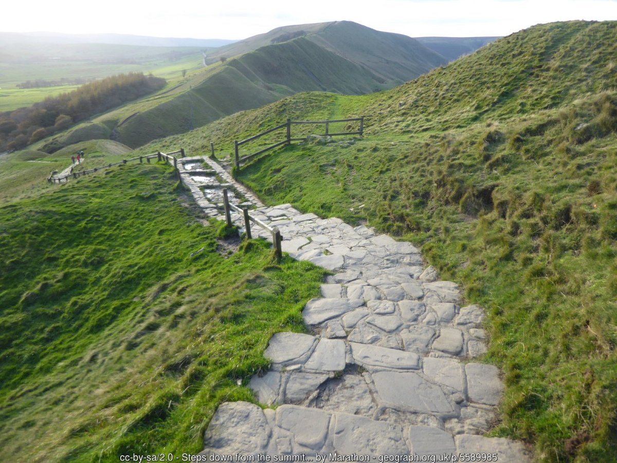 Walk up Mam Tor from Castleton
