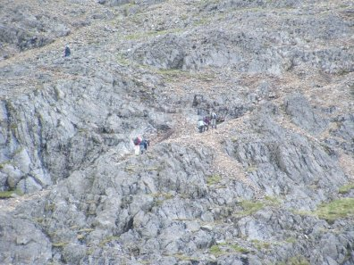 glyder scree path