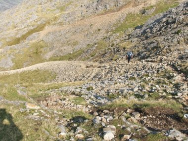 All the Walking Routes up Glyder Fawr and Glyder Fach